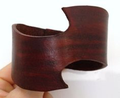 Brown+leather+cuff+.++Leather+bracelet+by+ChristyKeysCreations,+$18.00