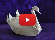 How to make an origami swan   Ikuzo Origami