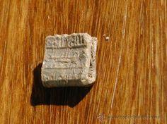AMULETO DE PLOMO ALMOHADE, siglo XII - XIII todocolección