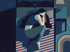 Healthy Sleeper - Owen Davey Illustration