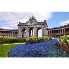 The #cinquantenaire park in #brussels #belgium pic by @aslootie