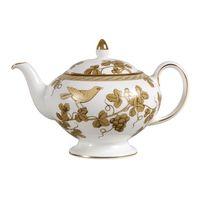 """Wedgwood Golden Bird"" Teapot wins sexiest Teapot of the day 09.11.13 on www.justteapots.com"