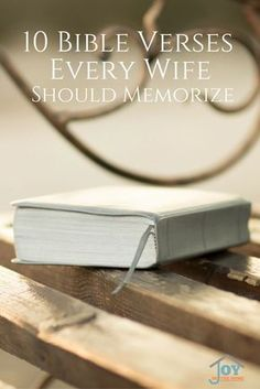 Marriage can be difficult, especially if you don't have a strong foundation on scripture. These Bible verses will help encourage you to keep the faith, and your marriage. via @joyinthehome