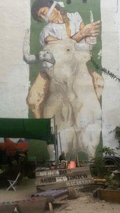 Mercado agroecologico#graffiti