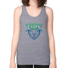 Minnesota Lynx Unisex Fine Jersey Tank (on woman) Shirt