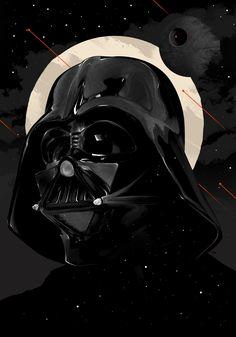 Star Wars: Darth Vader by Tomasz Majewski Darth Vader Artwork, Darth Vader Face, Vader Star Wars, Darth Vader Tattoo, Darth Vader Poster, Darth Maul, Star Trek, Star Wars Fan Art, Thrawn Star Wars