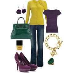 Eggplant, created by mirapaigew on Polyvore