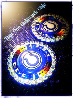 Indianapolis colts and Quillwork, pretty neat huh :)  my quillwork by Shantoya Waloke