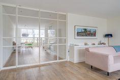 Inspiratie - GewoonGers Door Dividers, Doors, Living Room, House, Furniture, Basement, Home Decor, Kitchens, Glass