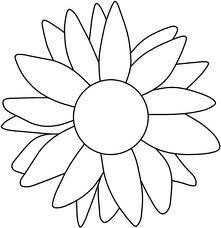 Free printable sunflower stencils sunflower clip art vector sunflower pattern google zoeken pronofoot35fo Choice Image