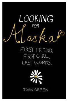 Looking for Alaska - John Green (Szukając Alaski) I Love Books, Good Books, Books To Read, My Books, John Green Libros, John Green Books, Green Miles, Looking For Alaska, The Fault In Our Stars