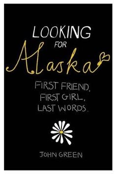 essay on looking for alaska Looking for alaska essay writing prompts (by john green) students will need to choose one of the four quotations from john greens novel looking f.