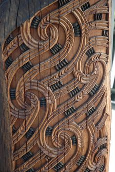 Maori wood carving, New Zealand Papua Nova Guiné, Maori Designs, Celtic Designs, Polynesian Art, Nz Art, Art Premier, Maori Art, Kiwiana, Wood Sculpture
