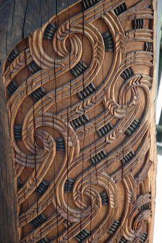 Maori Carving....celtic likeness