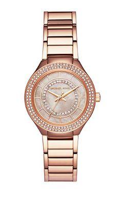 9470c79b7d24 Michael Kors Mini Kerry Pav Mother-of-Pearl Analog Bracelet Watch