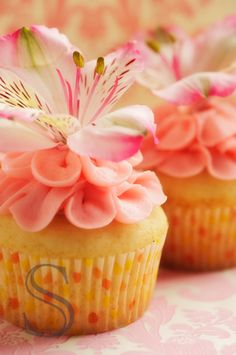 Spring Shower Cupcakes!