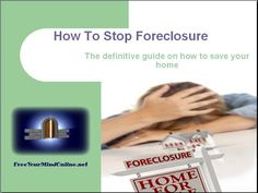How To Stop Foreclosure: Video Tutorial #foreclosure #repossession -- How To Stop Foreclosure -- http://www.youtube.com/watch?v=7T0mRYdybTk