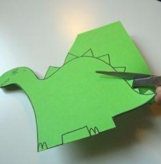 Carte d'invitation anniversaire Dinosaure - Enfants 2-12 ans - Pure Famille