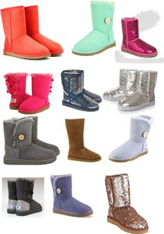 """""""uggs"""" by mikaylapiglet ❤ liked on Polyvore"""
