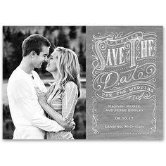 This Save the Date Magnet is handy, unique and a constant reminder that your wedding is not too far away! – exclusively from @Ann Flanigan's Bridal Bargains