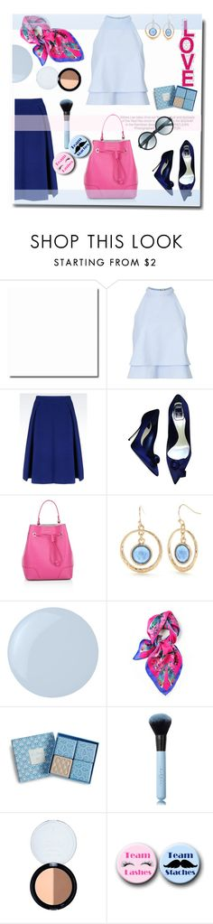 """""""Scarf love"""" by gul07 ❤ liked on Polyvore featuring Miss Selfridge, Armani Collezioni, Christian Dior, Kershaw, Furla, New Directions, Essie, Kris Jane, Vera Bradley and Tom Ford"""
