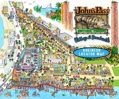 Johns Pass Village in Treasure Island my favorite shop is there - The Spice… Clearwater Florida, Tampa Florida, Florida Vacation, Florida Travel, Florida Beaches, Vacation Trips, Florida 2017, Kissimmee Florida, Naples Florida