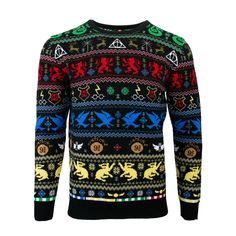 Best mens ugly christmas sweater, New Official Harry Potter Houses Christmas Jumper / Ugly Sweater Harry Potter Christmas Sweater, Harry Potter Knit, Mens Ugly Christmas Sweater, Knitted Christmas Jumpers, Harry Potter Houses, Ugly Sweater, Xmas Jumpers, Christmas Clothes, Hogwarts Houses
