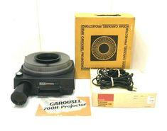 Kodak Carousel 760h 35mm Photo Slide Projector w/ Remote Slide Tray ~ Tested #Kodak Projectors, Remote, Ebay, Pilot