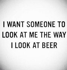 But... beer