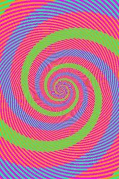 Spirale a pastello