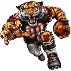 The players need the roar of the fans and nobody pumps up the crowd like your favorite team mascot! The Fathead NFL Team Mascot Wall Decal is an awesome. Nfl Football Teams, Football Art, Football Memes, Broncos Memes, Bears Football, Football Stuff, Cincinnati Bengals, Indianapolis Colts, Team Mascots