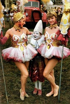 4 Circus people, 1955
