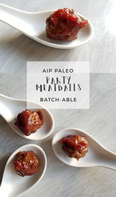 Party Meatballs | Enjoying this Journey...