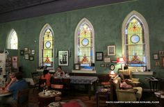 These restaurants housed in former churches are sure to please the palates of even the most devout food-lovers http://blog.preservationnation.org/2014/11/24/churches-turned-restaurants-part-two #resuse #preservation #food #restaurants #churches