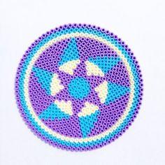 Hama Bead Mandala Design by Merry Raymond - Patch Of Puddles