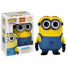 Despicable Me 2 Movie Dave Pop! Vinyl Figure...EEEEEE! I want!!!!