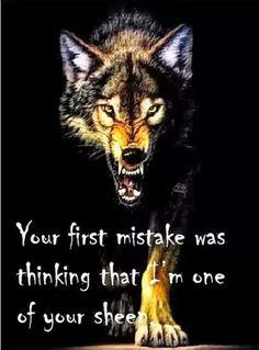 Do not be mistaken, I may be stronger than I look. Nemojte se iznenaditi ako sam jača nego što izgledam. Izgled ume varati. Lela