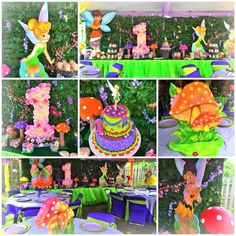 Tinkerbell and Friends Birthday Party Ideas | Photo 9 of 18 | Catch My Party