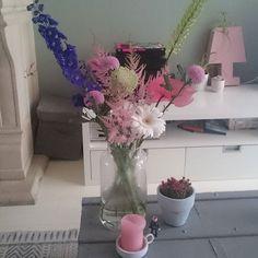 Net mezelf even lekker verwend met verse bloemen!!!!  #bloemen #flowers