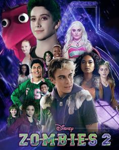 Zombie Disney, Kid Friendly Halloween Movies, Zombie Birthday Parties, Meg Donnelly, Disney Decendants, Emperors New Groove, Zombie Movies, Geek News, Movie Marathon