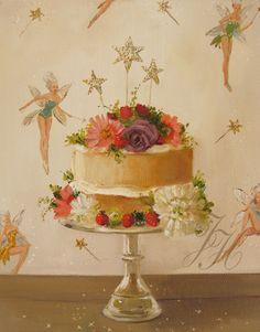 Fairy Cake by Janet Hill