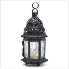 Gothic Candle Lantern  It's perfect! I need to grab a bunch for LARPing.