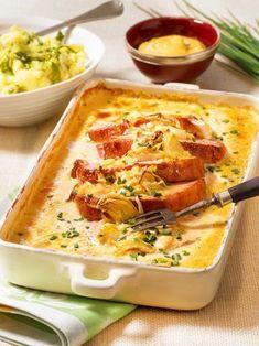 Kasseler in honey mustard cream recipe DELICIOUS-Kasseler in Honig-Senf-Sahne Rezept Quick Pork Chop Recipes, Pork Recipes, Crockpot Recipes, Chicken Recipes, Healthy Pork Chops, Healthy Chicken, Smoked Pork Chops, Baked Pork, Honey Mustard