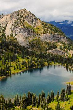 'Looking Down on Upper Crystal Lake', Mount Rainier National Park, photography by Lidija Kamansky: http://500px.com/photo/63184477/looking-down-on-upper-crystal-lake-by-lidija-kamansky