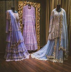 Pinterest: nazifa101 #Indian#Pakistani#Bengali#Desi#Lehenga#Sharara#Kameez#Enchanted#Lehengas#Wedding#Royal#Gold#Blue#Pink#Lavender#Cooltones#Couture#IndianCouture