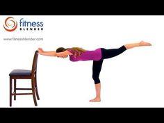Fitness Blender Barre Workout Video - Free 39 Minute Barre Workout at Home #BARRE #FITNESS #HEALTH #HAWA