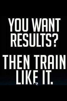 you want results? then train like it #fitspo