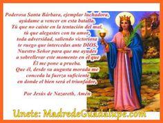 Curaciones Milagrosas la: Oración a Santa Bárbara Para alejar todo Tipo de Pobrezas y Escases Financieras