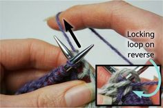 How to get rid of the sloppy instarsia look. Pull on the locking loop Intarsia Knitting, Knitting Help, Knitting Stitches, Baby Knitting, Changing Colors In Knitting, Tips & Tricks, Straight Stitch, Fair Isle Knitting, Crochet Clothes