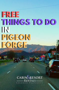 Free things to do while on vacation in Pigeon Forge, Tennessee.